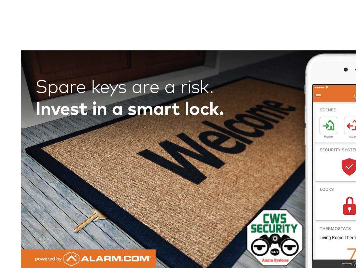Smart Home Security Versus… Spare Keys